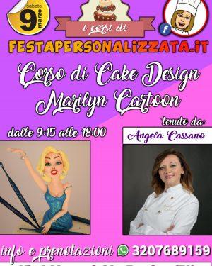 Corso di Cake Design del 13 dicembre 2018 con Teresa Doria - Acconto 50%