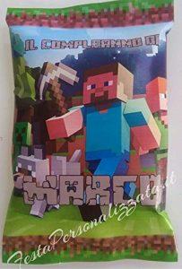 Patatine Personalizzate Tema Minecraft