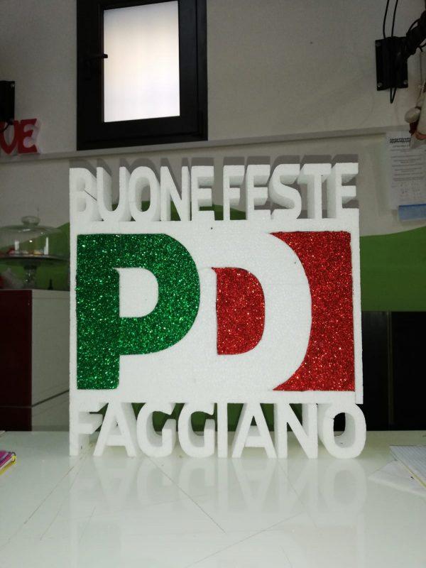 Logo aziendale in Polistirolo 40x40 cm