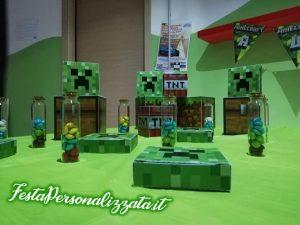 Ulterioi Dettagli del Super allestimento Minecraft per compleanno a tema