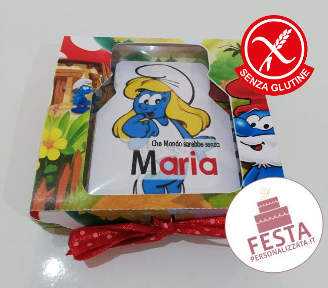 Nutella in plastica con box personalizzato senza glutine