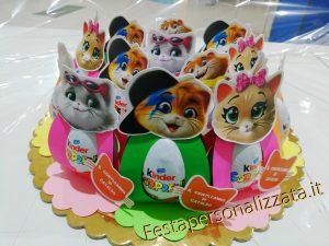 Ovetto Kinder con contenitore personalizzato al 100% con il tuo tema o cartone animato perferito
