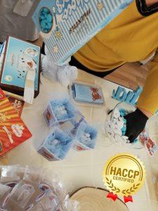 Allestimento sweet table con certificazione h.a.c.c.p. per la vostra igiene
