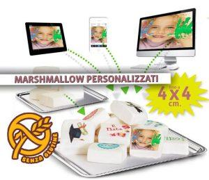 MarshMallow Personalizzati con foto o grafica