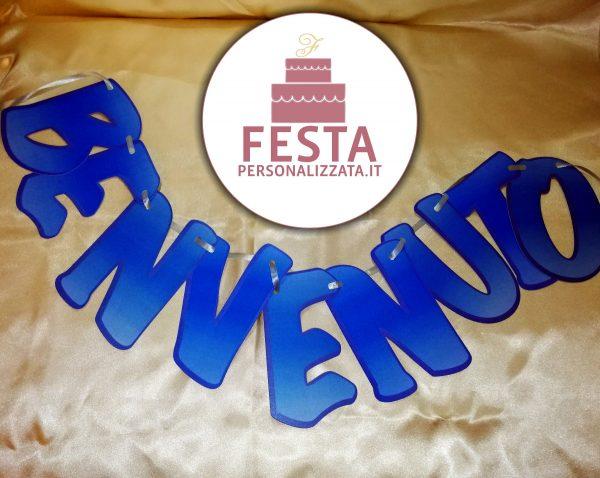 Festone Sagomato Personalizzato - Benvenuto