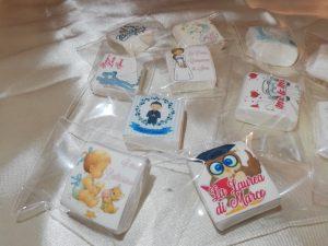 MarshMallow Personalizzati con foto o grafica imbustati singolarmente