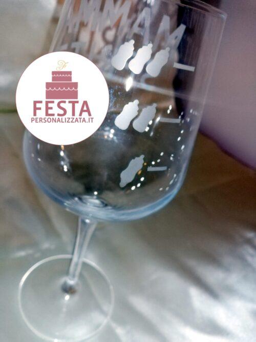 Bicchiere personalizzato Mamma Spritz