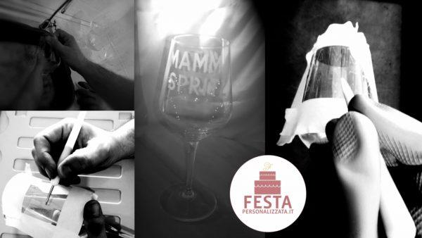 Bicchiere personalizzato Mamma Spritz Work In progress