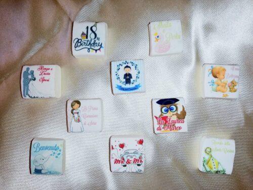 MurshMallow personalizzati con foto - Imbustati non singolarmente