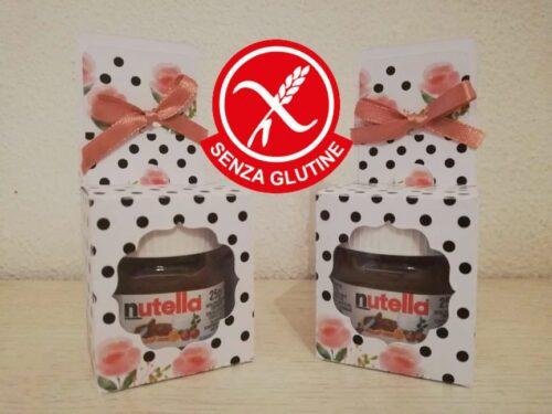 Nutellina con scatolo personalizzato senza glutine